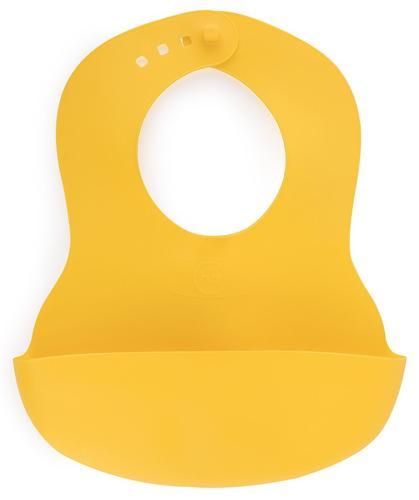Нагрудник пластиковый мягкий Happy Baby Soft children's bib Lemon (1)