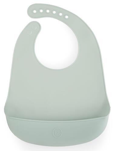 Нагрудник Happy Baby силиконовый Silicone Baby Bib Aqua (1)