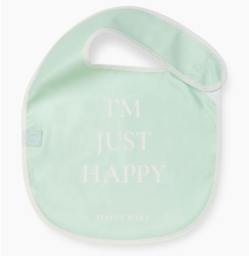 Нагрудный фартук Happy Baby на липучке 16009 Aqua (6)
