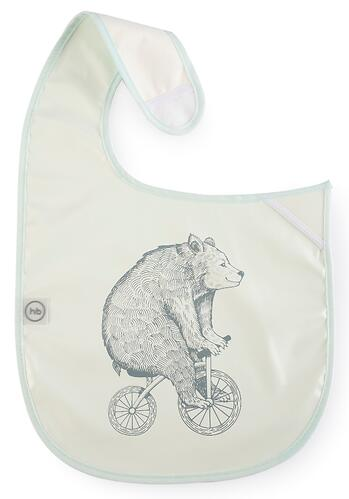 Нагрудный фартук Happy Baby на липучке 16009 Bear (5)