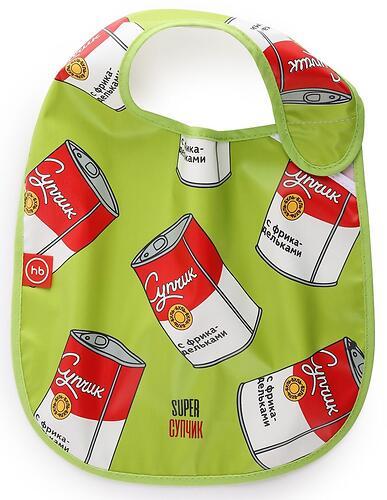 Нагрудный фартук Happy Baby на липучке 16009 Soup (4)