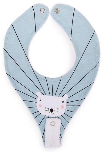Нагрудный фартук Happy Baby с креплением для пустышки Mouse (4)