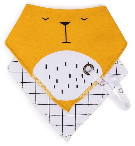 Набор нагрудных фартуков Happy Baby 2шт 16015 Bear (4)
