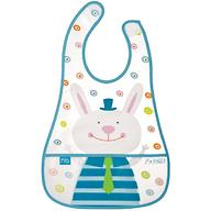 Слюнявчик на липучке Happy Baby Children's bib Mr Rabbit