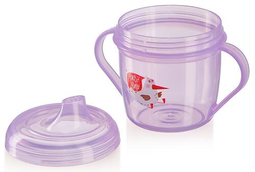 Поильник Happy Baby Training Cup Lavender (4)
