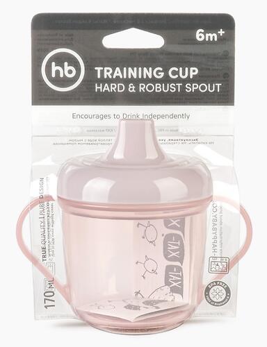 Поильник Happy Baby 170 мл Training Cup 14001 Lilac (6)