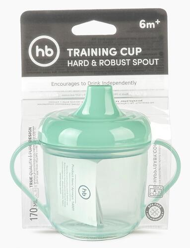 Поильник Happy Baby 170 мл Training Cup 14001 Olive (6)