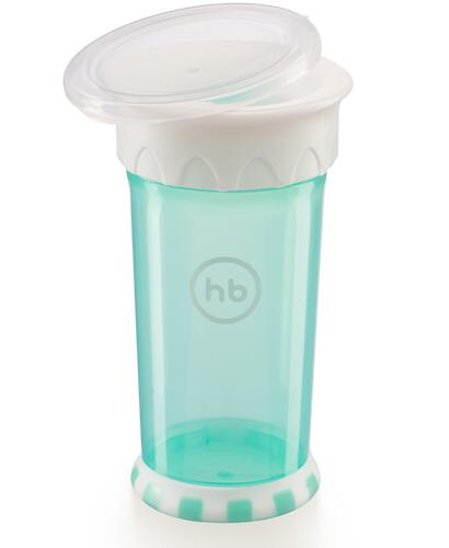 Кружка-поильник Happy Baby Drinking cup 360° Mint (7)