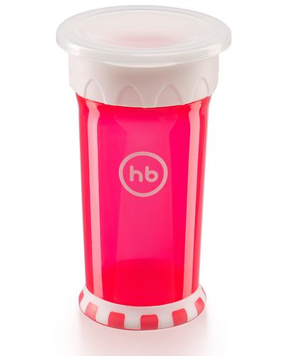 Кружка-поильник Happy Baby Drinking cup 360° Ruby (6)