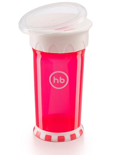 Кружка-поильник Happy Baby Drinking cup 360° Ruby (7)
