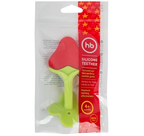 Прорезыватель силиконовый Happy Baby Silicone Teether 20025 Red (4)