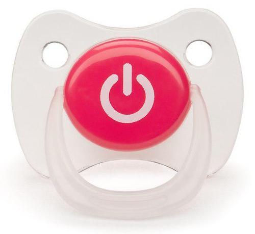 Соска Happy Baby Baby Pacifier 0-12 мес ортодонтической формы c колпачком Red (5)