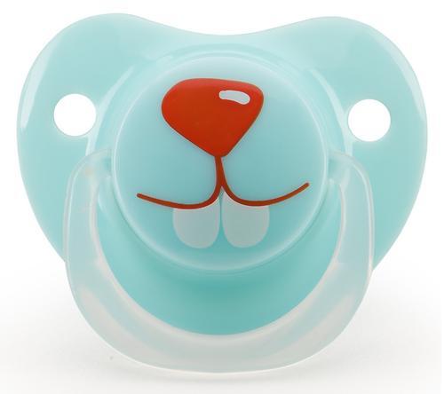 Соска Happy Baby Soother 12-24 мес ортодонтической формы Кролик (4)