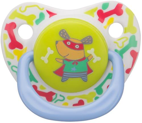 Соска Happy Baby Soother 0-12 мес ортодонтической формы Dog (4)