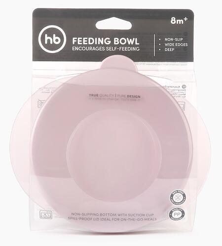 Тарелка Happy Baby детская на присоске с крышкой Eat&Carry 15002 Lilac (10)