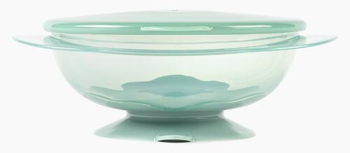 Тарелка Happy Baby детская на присоске с крышкой Eat&Carry 15002 Olive (8)