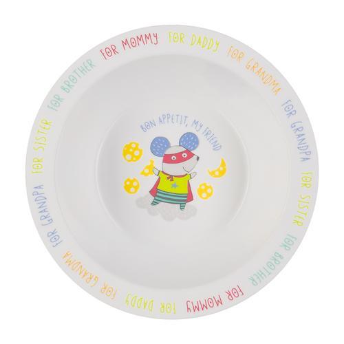 Тарелка Happy Baby глубокая на присоске Feeding bowl Желтый (8)