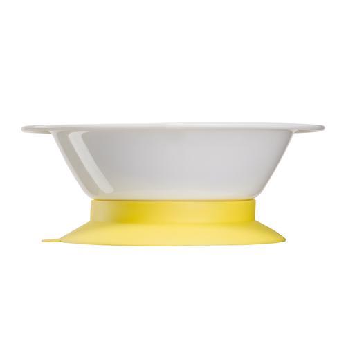 Тарелка Happy Baby глубокая на присоске Feeding bowl Желтый (5)