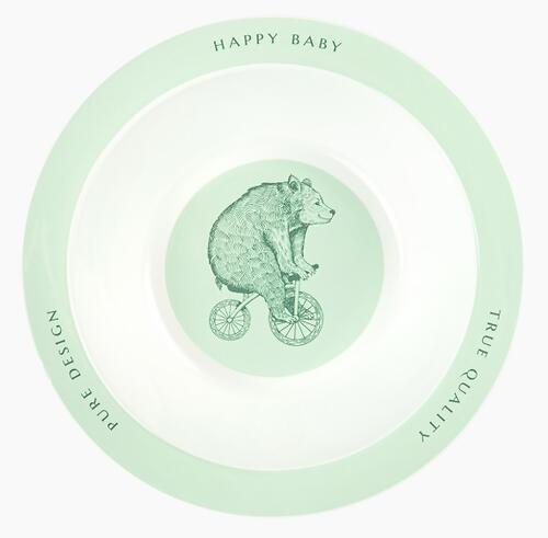 Тарелка Happy Baby глубокая Feebing Bowl 15016 Olive (4)