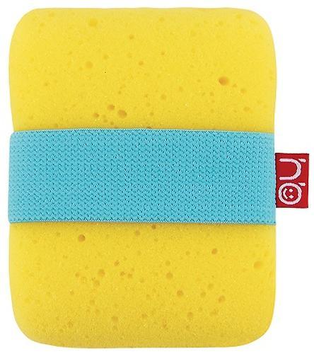 Мочалка с резинкой на руку Happy Baby Sponge Yellow (5)