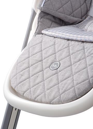 Стул для кормления Happy Baby Berny Basic Light Grey (16)