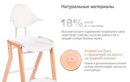 Стул для кормления Happy Baby Ecolux White (18)