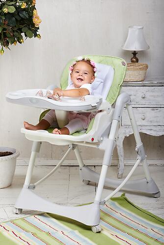 Стульчик для кормления Happy Baby William Cream (17)