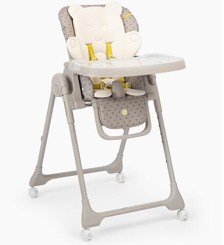 Стульчик для кормления Happy Baby William PRO Grey (12)