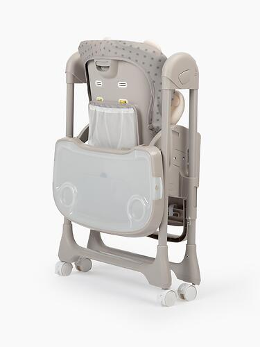 Стульчик для кормления Happy Baby William PRO Grey (17)