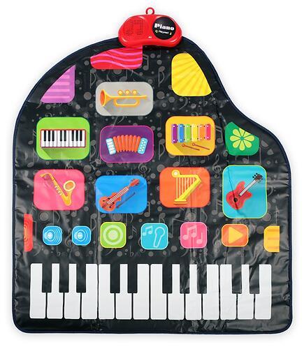 Игровой музыкальный коврик Happy Baby 330095 Grammix (5)
