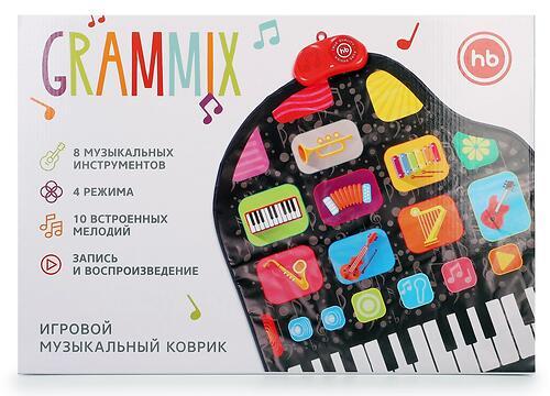 Игровой музыкальный коврик Happy Baby 330095 Grammix (8)