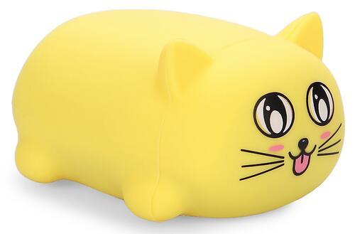 Игрушка Happy Baby котик Soft&Joy 330374 Желтый (1)