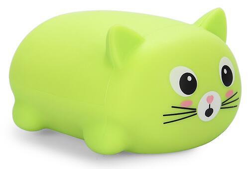 Игрушка Happy Baby котик Soft&Joy 330374 Зеленый (1)