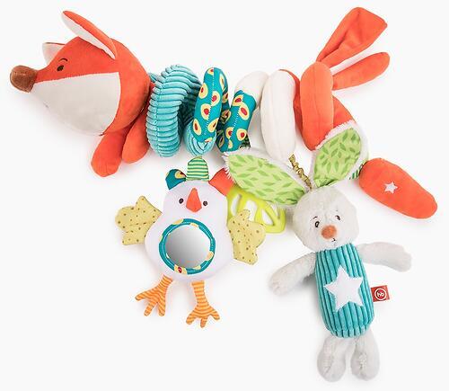 Развивающая игрушка-спираль Happy Baby Лисичка Люся (1)