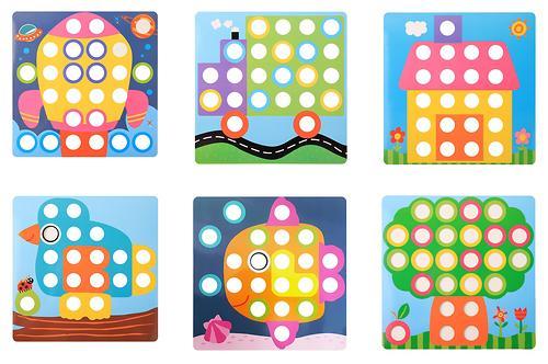 Игрушка-пазл Happy Baby Art-Puzzle (10)