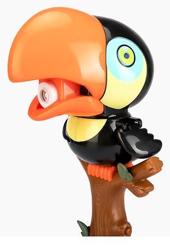 Игрушка для пускания мыльных пузырей Happy Baby Bubble Parrot (8)