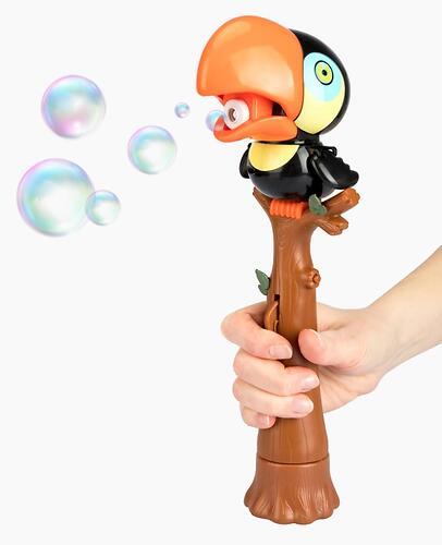 Игрушка для пускания мыльных пузырей Happy Baby Bubble Parrot (9)