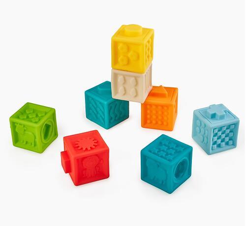 Кубики конструктор Happy Baby Funny Blocks (5)