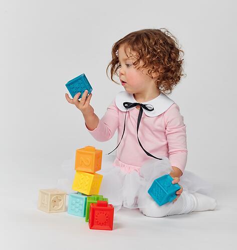 Кубики конструктор Happy Baby Funny Blocks (7)