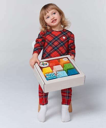 Кубики конструктор Happy Baby Funny Blocks (8)