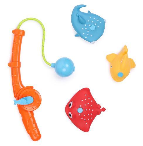 Набор игрушек Happy Baby для ванной FISHMAN Orange (5)