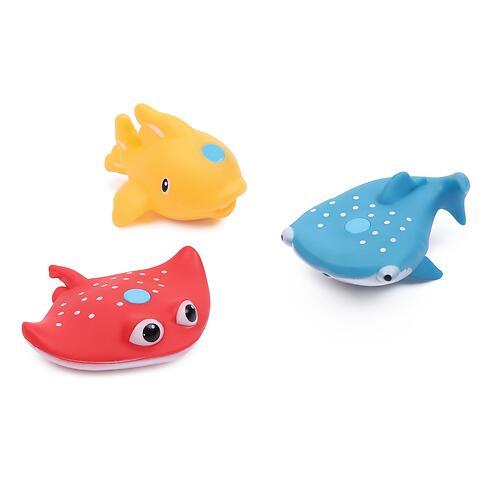 Набор игрушек Happy Baby для ванной FISHMAN Orange (7)