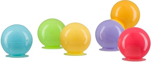 Набор ПВХ-игрушек Happy Baby для ванной IQ-Bubbles (5)
