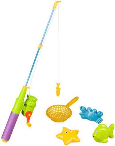 Набор игрушек для ванной Happy Baby Little Fishman (3)