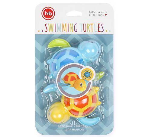 Игрушка Happy Baby Swimming Turtles Blue and Yellow (6)