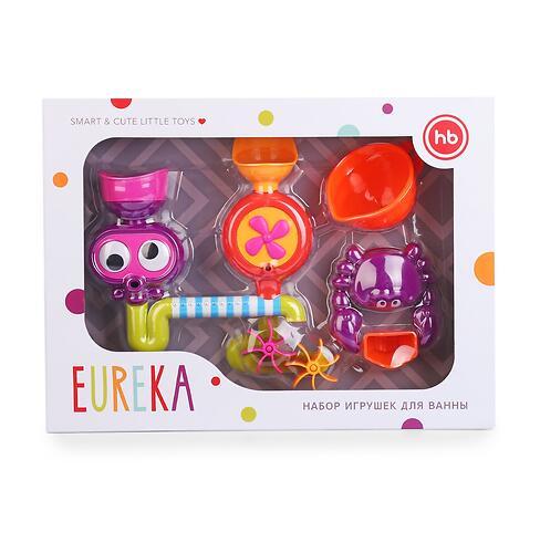 Набор игрушек Happy Baby для ванной EUREKA (12)