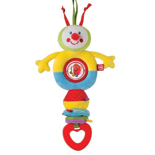 Игрушка-погремушка Happy Baby Растяжка Гусеница (3)