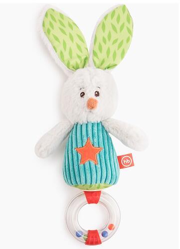 Погремушка-трещотка Happy Baby Заяц Макс (3)