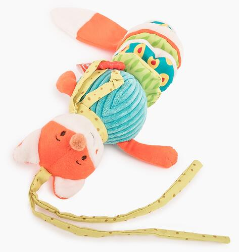 Подвесная погремушка Happy Baby Лисичка Люся (6)