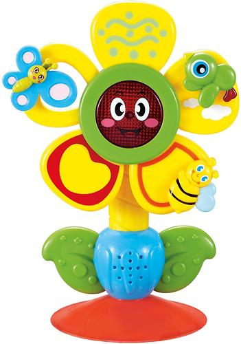 Музыкальная игрушка Happy Baby на присоске Fun Flower (1)